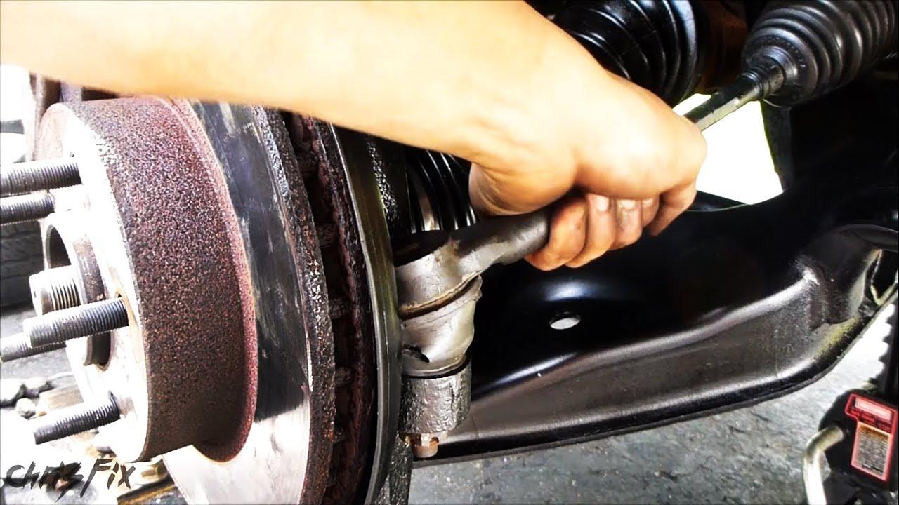 Photo of vehicle tie rod.